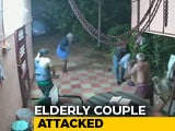 Video : On Camera, Elderly Couple Fights Armed Robbers With Chairs, Slippers