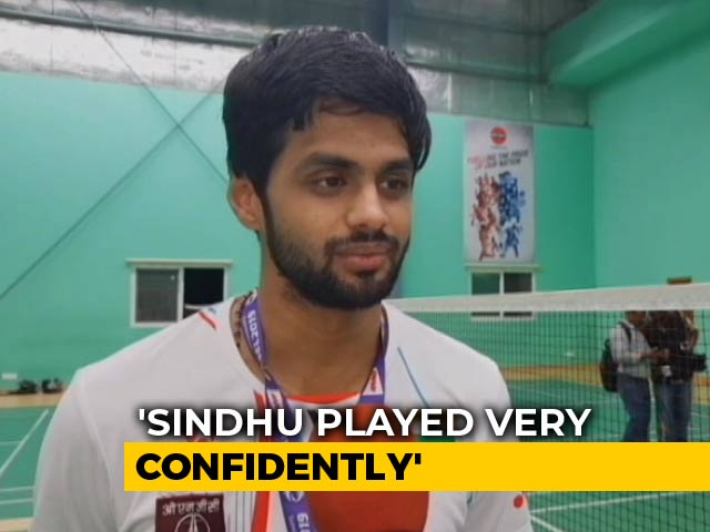 "Video : ""Want To Qualify For Olympics And Win A Medal,"" Says Sai Praneeth"