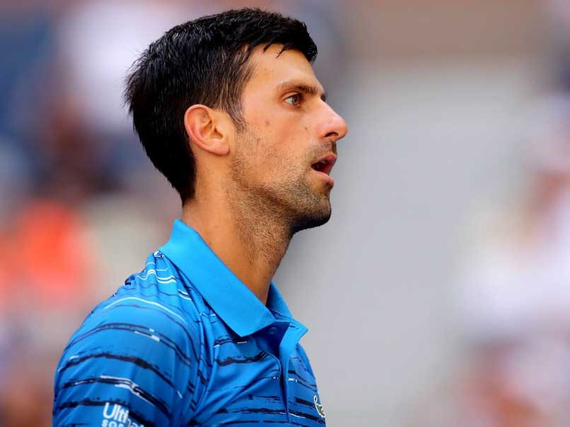Novak Djokovic Clashes With Us Open Fan During Practice Session Watch Video Tennis News