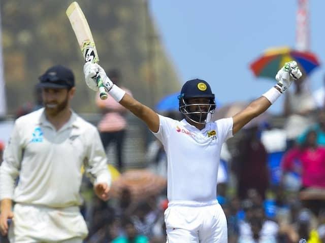 Captain Dimuth Karunaratnes Ton Leads Sri Lanka To New Zealand Test Win
