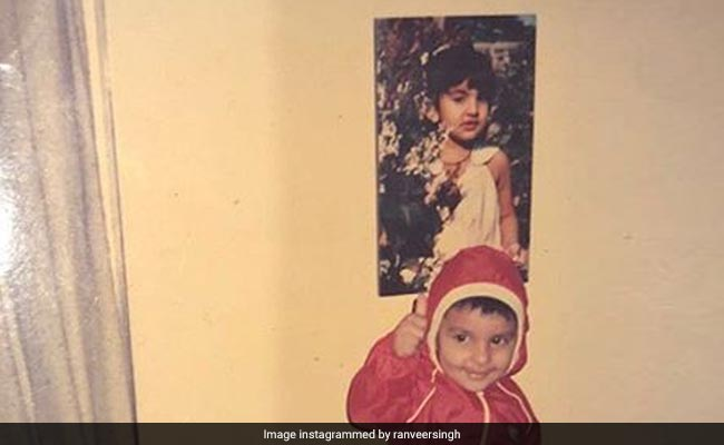 When Little Ranveer Singh's Thunder Was Almost Stolen By 'Photobomber' Sister Ritika