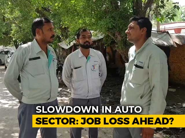 Video : Auto Slowdown Causing Job Losses, Temporary Factory Workers Face The Axe