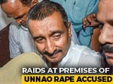 Video : Unnao Rape Accused Kuldeep Sengar's Premises Raided By CBI