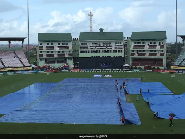 India vs West Indies: Rain Washes Out 1st ODI After 13 Overs Of Play