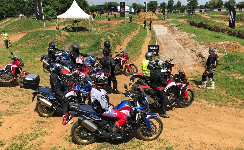 Image result for Honda Organises First 'Africa Twin True Adventure Camp' In India