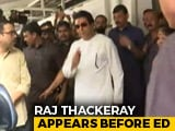 Video : Raj Thackeray Appears For Questioning In Probe Linked To IL&FS Crisis