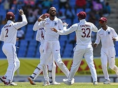 West Indies vs India 1st Test Day 2 LIVE Score: Kemar Roach Picks His Fourth, India 7 Down vs Windies