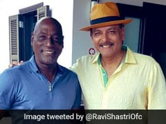 Shastri Calls Richards King Of Antigua