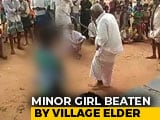 Video : On Camera, Minor In Andhra Village Assaulted By Village Elder For Eloping