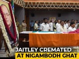 Video : Arun Jaitley Cremated With State Honours, Top Leaders Present