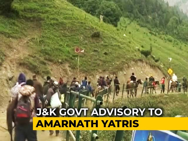 Video : Amarnath Yatra Pilgrims, Tourists Asked To Leave J&K Amid Security Threat
