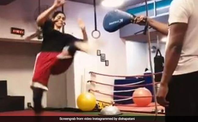 Disha Patani Video: दिशा पटानी ने धांसू एक्शन में आजमाए हाथ, वीडियो उड़ा देगा होश