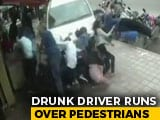 Video : Chilling Bengaluru Video Shows SUV Crashing Into Pedestrians