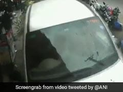 On Camera, Speeding Car Rams Pedestrians On Busy Bengaluru Street