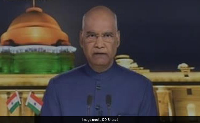 'Kashmir Move Will Help Its People': President Ram Nath Kovind In Independence Day Speech