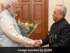 "PM Modi's Birthday Wish For ""Statesman"" Pranab Mukherjee"