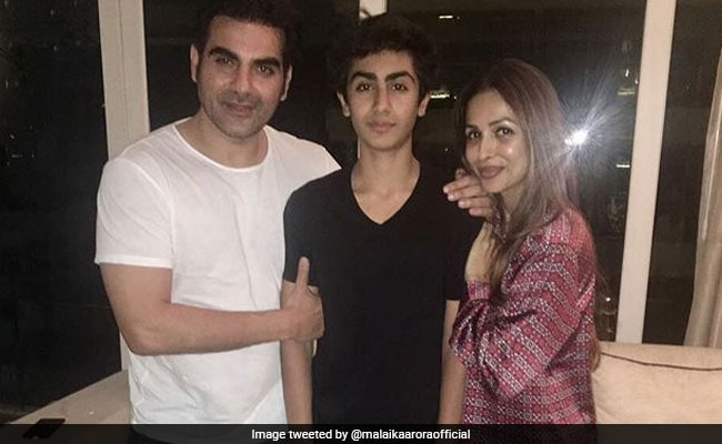 Malaika Arora Shares Arbaaz Khan's Throwback Pic To Prove Son Arhaan Is 'Xerox Copy'