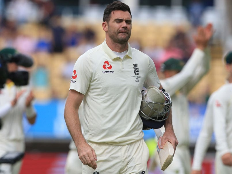 England Great James Anderson Out Of The Rest Of The Ashes With A Calf Injury