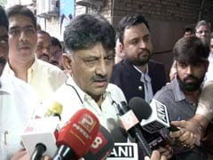 Congress's DK Shivakumar Appears Before Probe Agency For Second Day