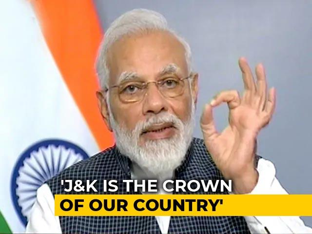 Video : PM Modi's Ode To Kashmiri <i>Kahwa</i>, Apples, Saffron...During Address To Nation