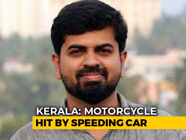 Video : Kerala Journalist Killed In Crash, Car Driven Allegedly By IAS Officer