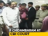 Video : P Chidambaram Questioned For 3 Hours, Produced In Court