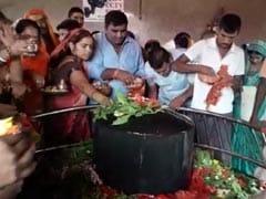 बिहार: लखीसराय के अशोकधाम मंदिर में भगदड़, एक की मौत,  कई घायल