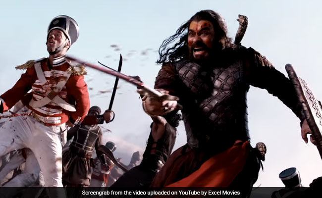 Sye Raa Narasimha Reddy: In New BTS Video, Glimpses Of Chiranjeevi, Amitabh Bachchan And Others