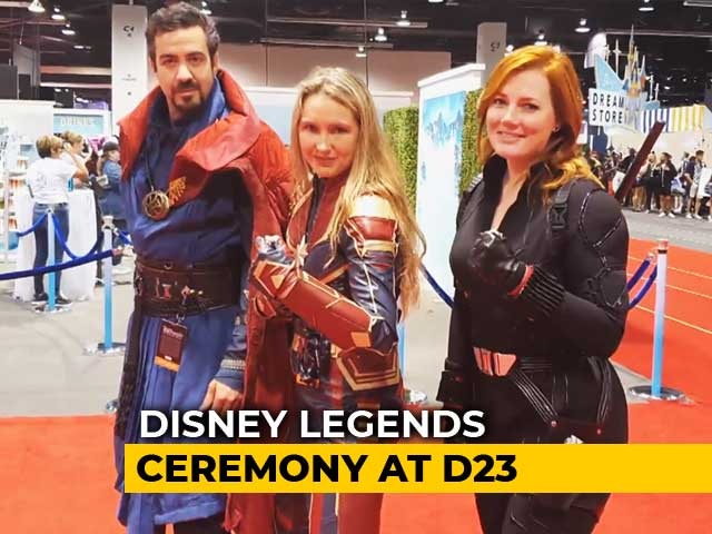 Video : Spotlight: A Look Inside The Disney D23 Expo In Los Angeles