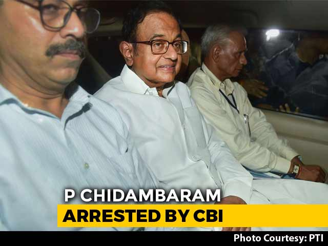 Video : P Chidambaram Arrested From Home By CBI Amid High Drama