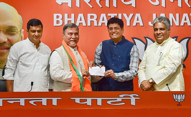 Former Congress Rajya Sabha Chief Whip Bhubaneshwar Kalita Joins BJP