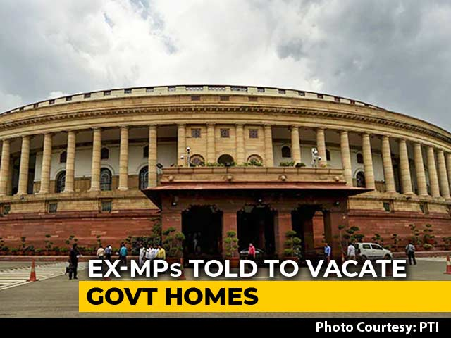Video : Ex-MPs Asked To Vacate Bungalows In 7 Days, Power And Water To Be Stopped