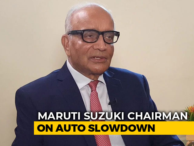 Video : Lot Can Be Done For Auto Sector Without Cutting GST, Says RC Bhargava