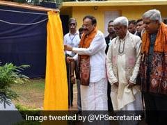 Venkaiah Naidu Inaugurates Renovated Building At Visva Bharati University