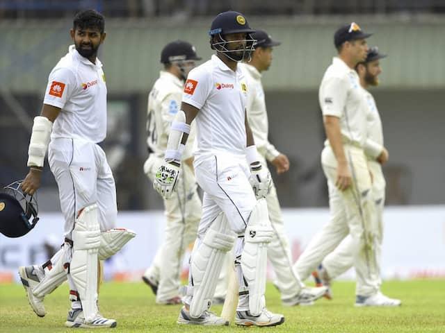 1st Test, Day 4: Sri Lanka Set Up Final Day Thriller Against New Zealand
