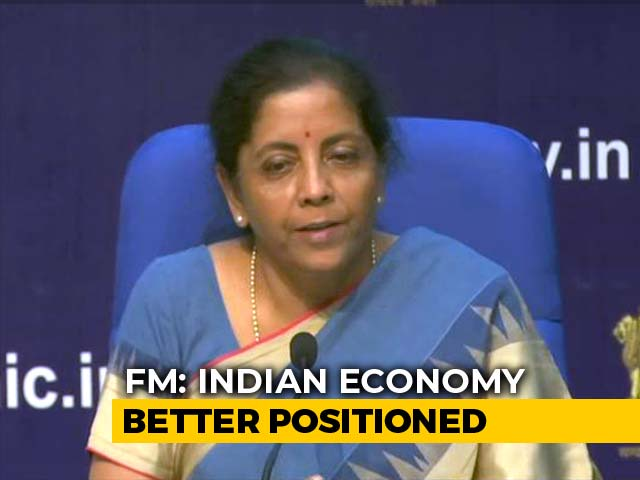 Video : India's Growth Rate Higher Than US And China, Says Finance Minister