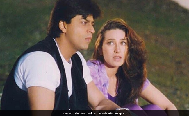 Friendship Day 2019: Karisma Kapoor Digs Up Old Pic With Shah Rukh Khan. Because, Dil Toh Pagal Hai