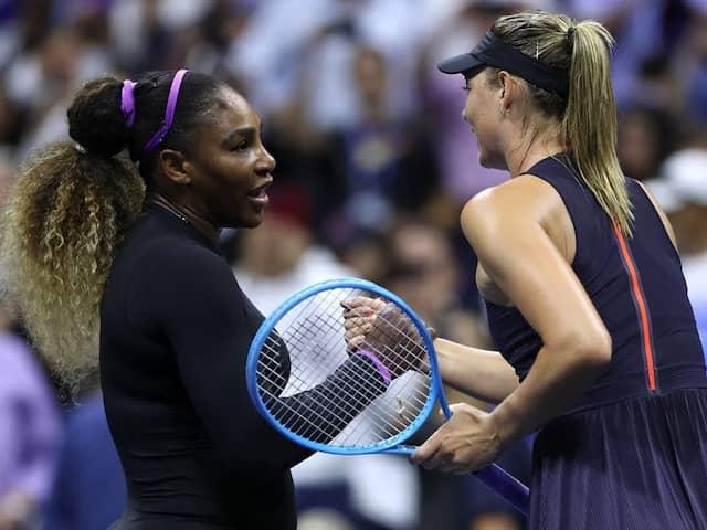Serena williams defeats Sharapova 6-1, 6-1 in 59 minutes