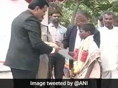 Boy, 12, Guided Ambulance Out Of Flooded Bridge In Karnataka, Felicitated