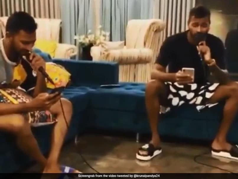 "Watch: Hardik Pandya, Krunal Pandya Team Up For ""Pandya Music Studio"""