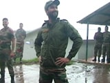 """Video: """"Team, How's The <i>Josh</i>?"""" Vicky Kaushal's Volleyball Match With Soldiers"""