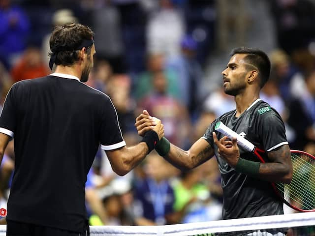 """""""Stunner On Ashe!"""": US Open Toasts Sumit Nagal After Gutsy Fight With Roger Federer"""