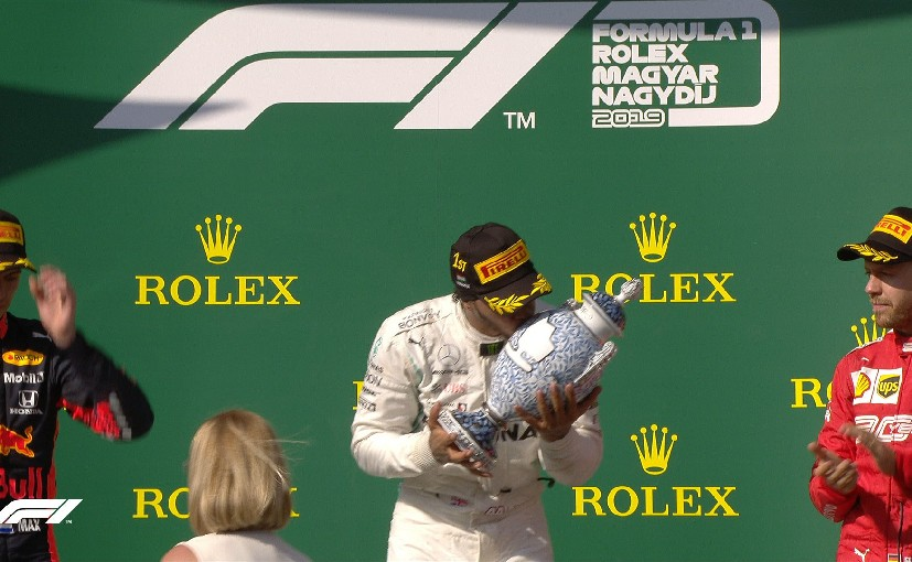 Lewis Hamilton secured his seventh win of the year in the 2019 Hungary GP beating Max Verstappen