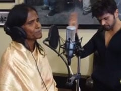 Himesh Reshammiya Records Song With Internet Sensation Ranu Mondal