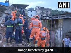 महाराष्ट्र के भिवंडी में चार मंजिला इमारत गिरी, दो की मौत, कई घायल