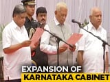 Video : Karnataka's BS Yediyurappa Finally Has A Cabinet. 17 Ministers Join
