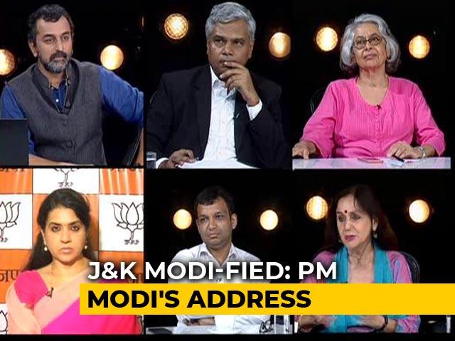 Video : Watch Analysis Of PM Modi's Speech On Kashmir