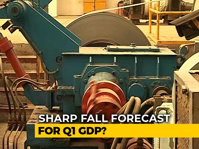 Video : Sharp Fall In June Quarter GDP Growth Expected