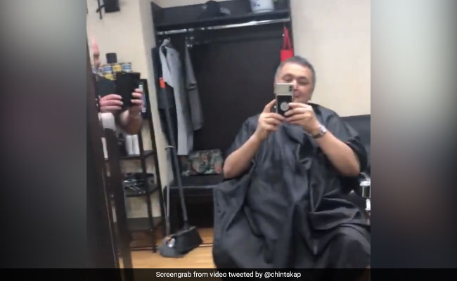 What Happened When Rishi Kapoor Met A Russian Fan At A Hair Salon In New York