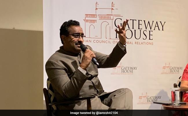 China Sent Soldiers To Southeast Asia, But India Sent Monks: Ram Madhav